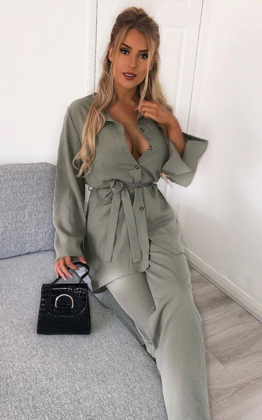 Niahla Shirt & Trousers Co-ord