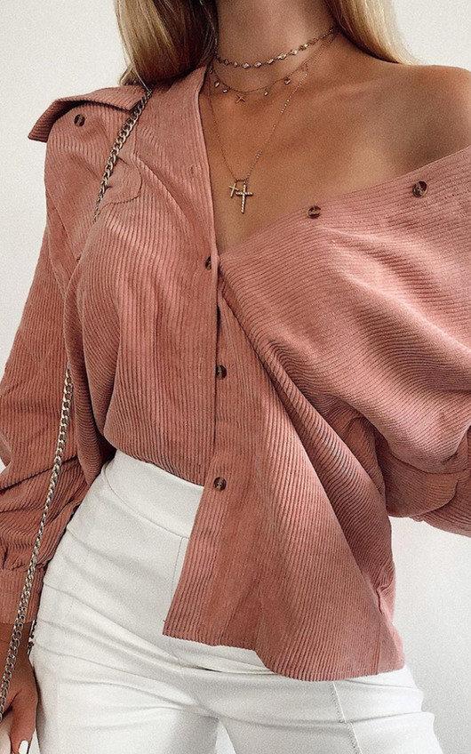 Niamh Cord Over Shirt