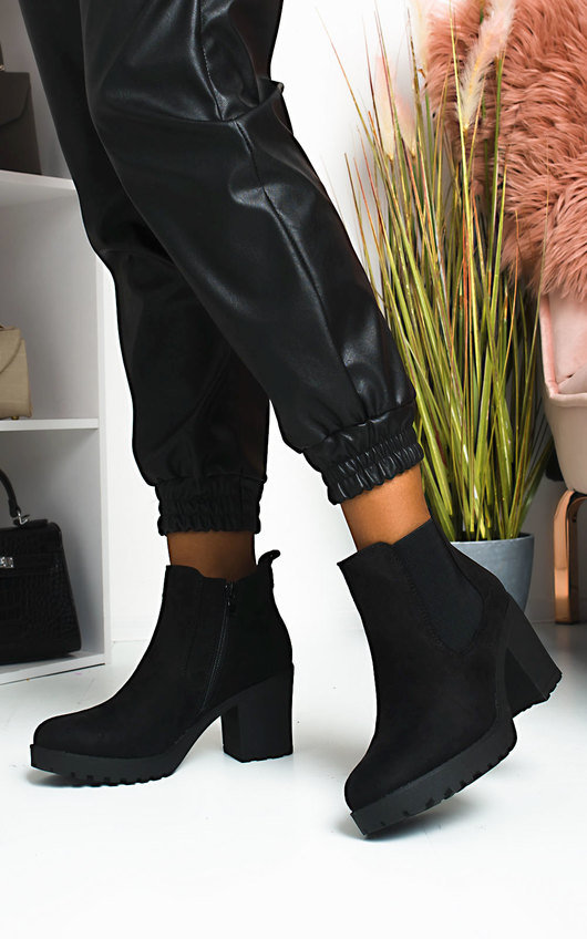 Niccy Heeled Chelsea Boots