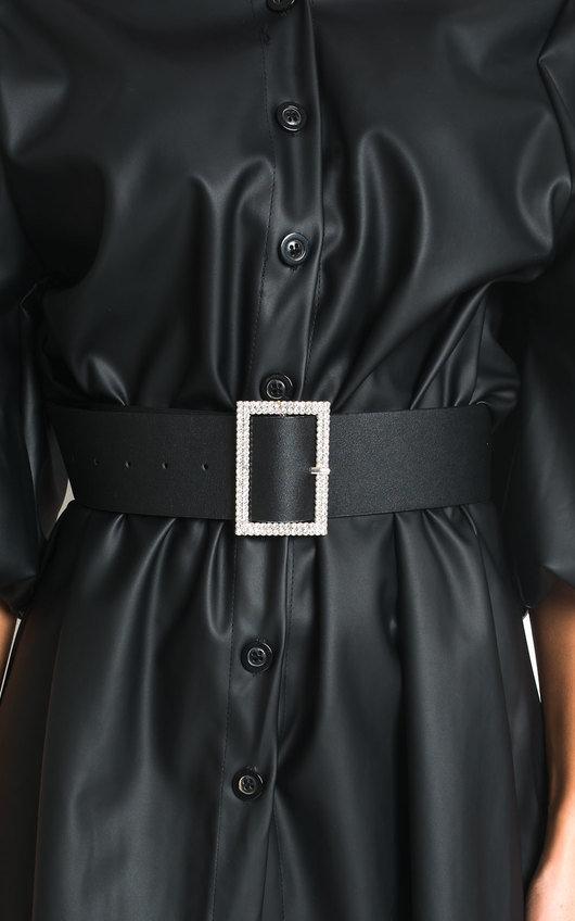Nicola Diamante Detail Buckle Belt