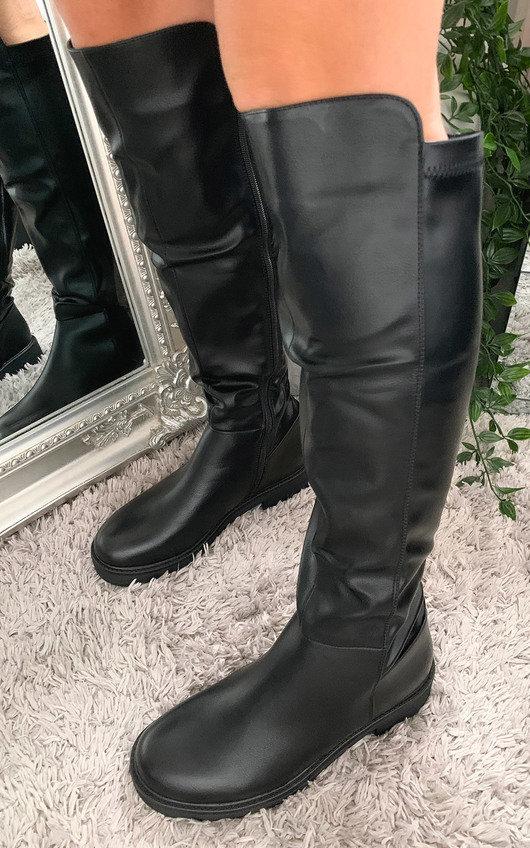 Nika Knee High Boots