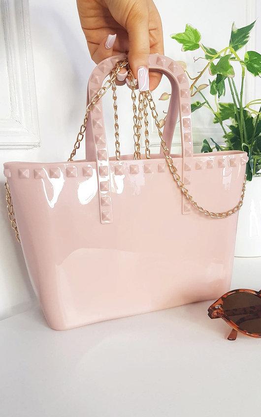 Nina Stud Detail Cross Body Bag