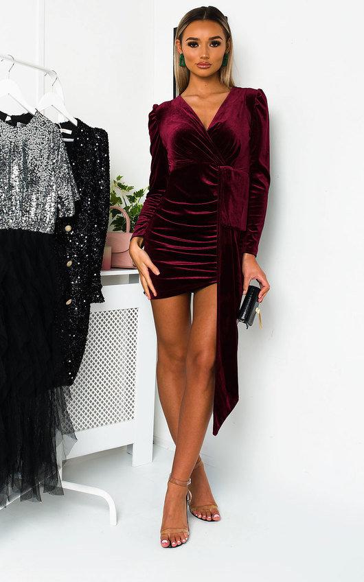 Noelle Velvet Mini Dress