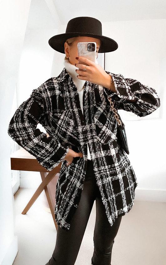 Nola Tweed Shirt Jacket