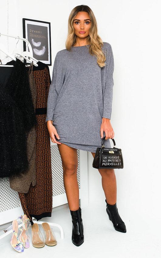 Nora Knitted Jumper Dress