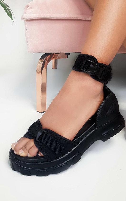 Nova Double Buckle Sport Chunky Sandals