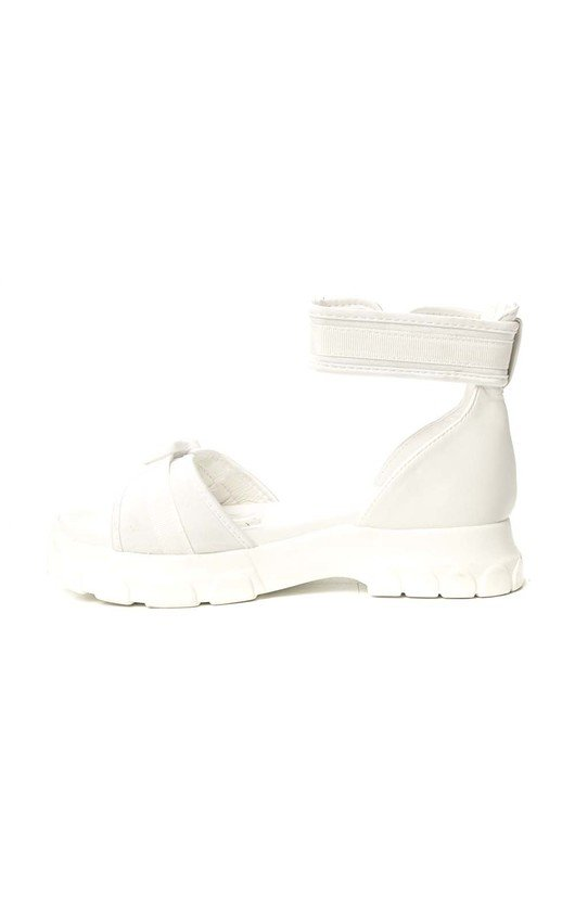 7635b3f5f Nova Double Buckle Sport Chunky Sandals in White