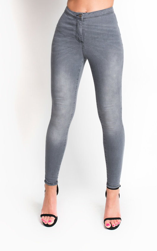 Nyla High Waisted Skinny Jeans
