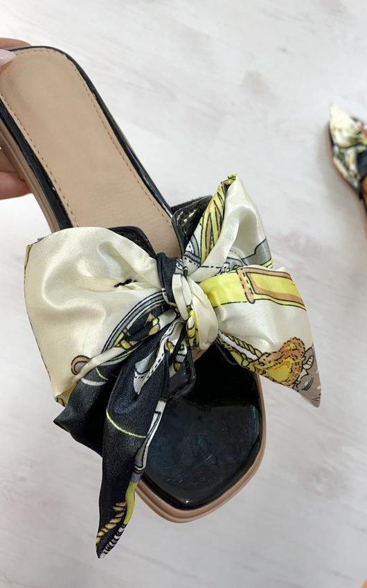 Nyla Satin Ribbon Sandals