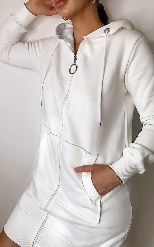 Ola Zipped Longline Jumper
