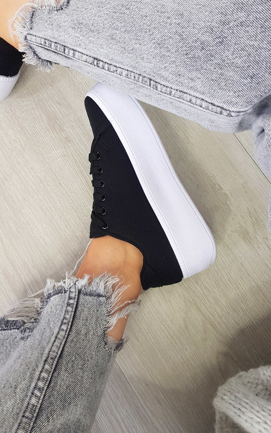 Oma Chunky Sole Lace Up Trainers