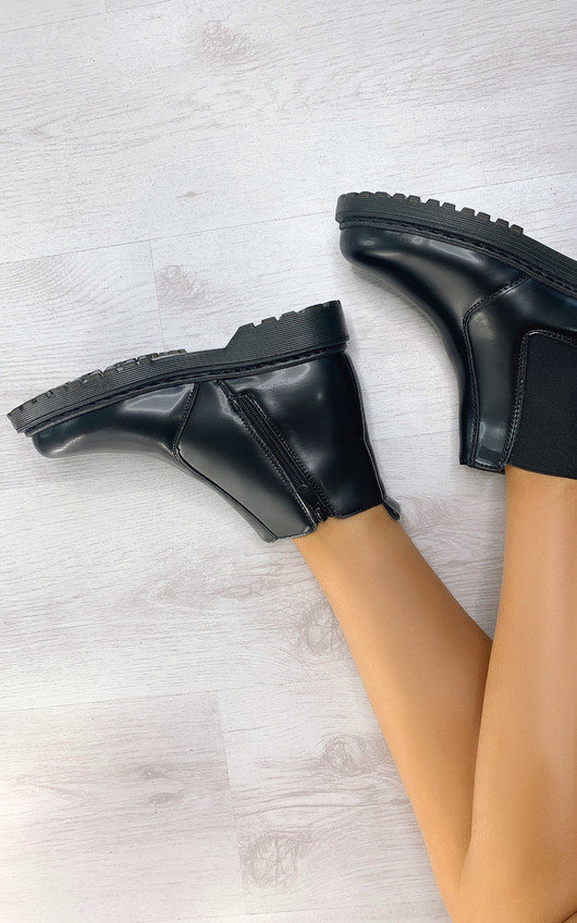 Orlagh Side Zip Ankle Boots