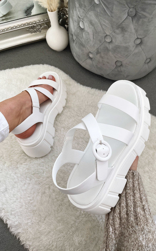 Paisley Chunky Sandals