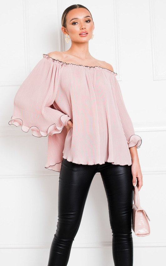 Pamela Frill Off Shoulder Top