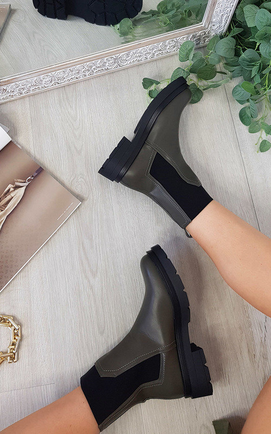 Pandora Chunky Ankle Boots