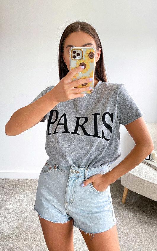 Paris Slogan T-shirt