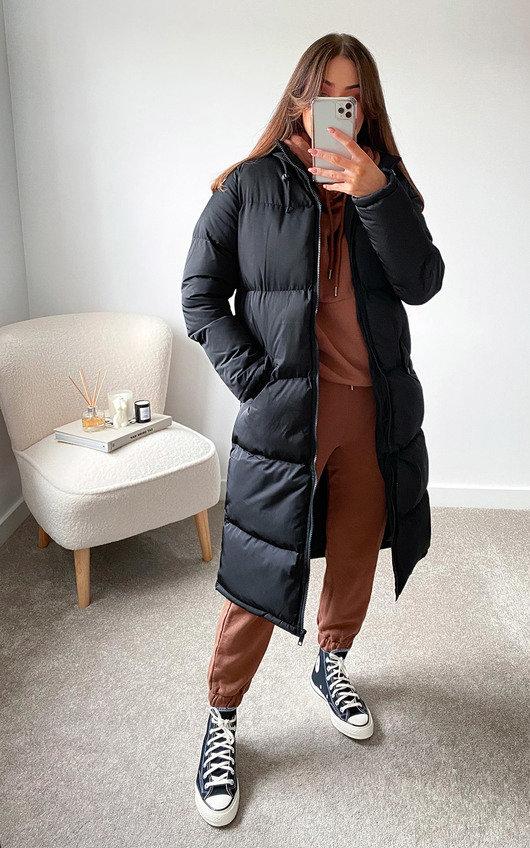 Parissa Padded Longline Puffer Jacket