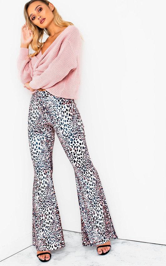 Penelope Knitted Crossover Jumper