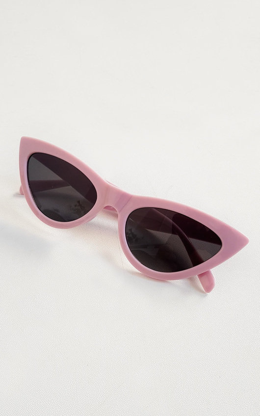 Penelope Pink Cat Eye Sunglasses