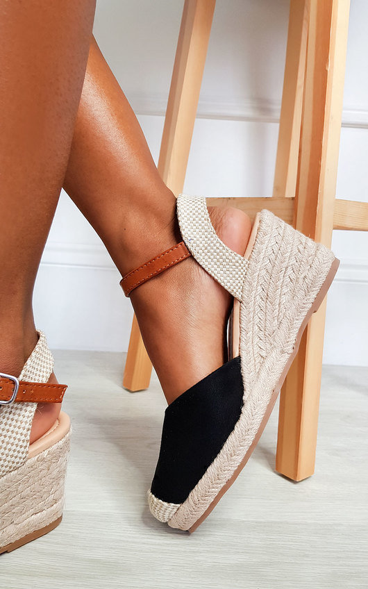 Pennie Espadrille Wedged Heels
