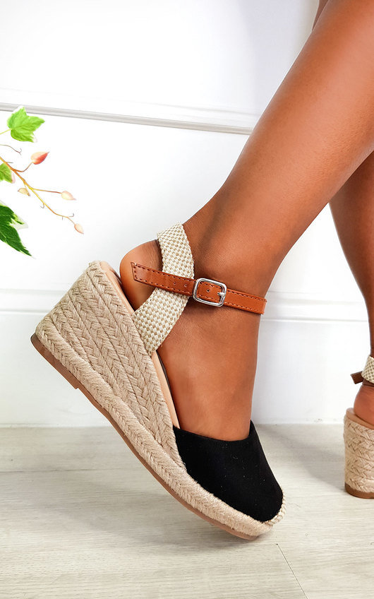 Pennie Espadrille Wedged Heels