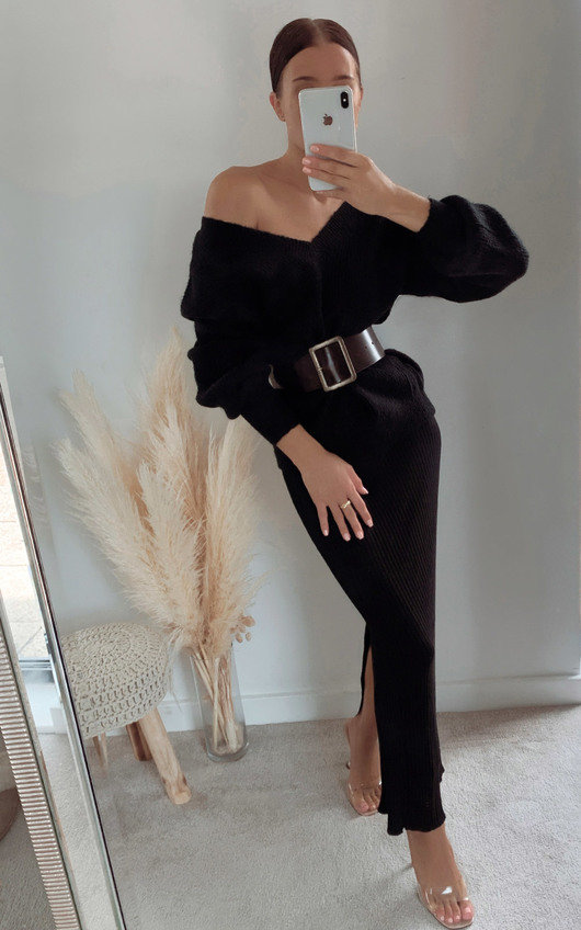 Penny Oversized Knitted Jumper