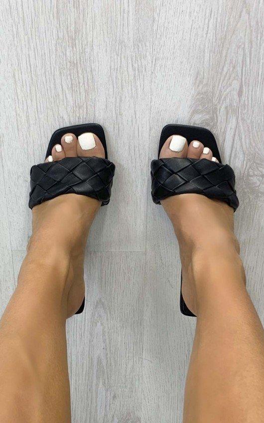 Perrie Braided High Heels