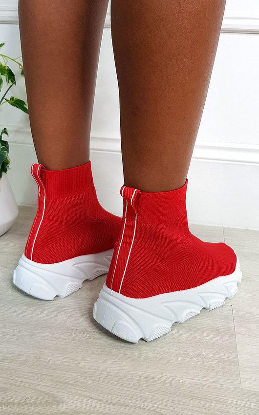Perrie Chunky Sock Trainers