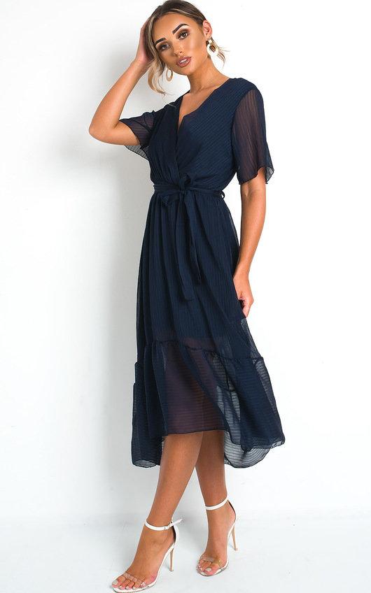 Perrie Frill Maxi Dress