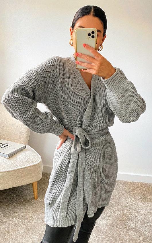 Petra Longline Knitted Cardigan