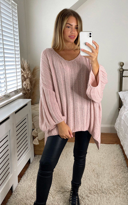 Petra Oversized Cable Knit Jumper