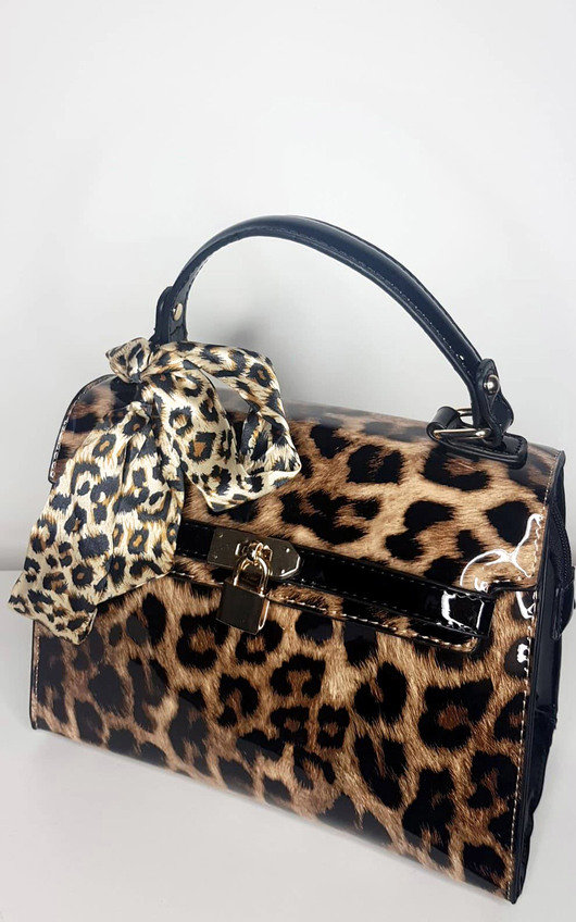 Piper Leopard Shoulder Bag