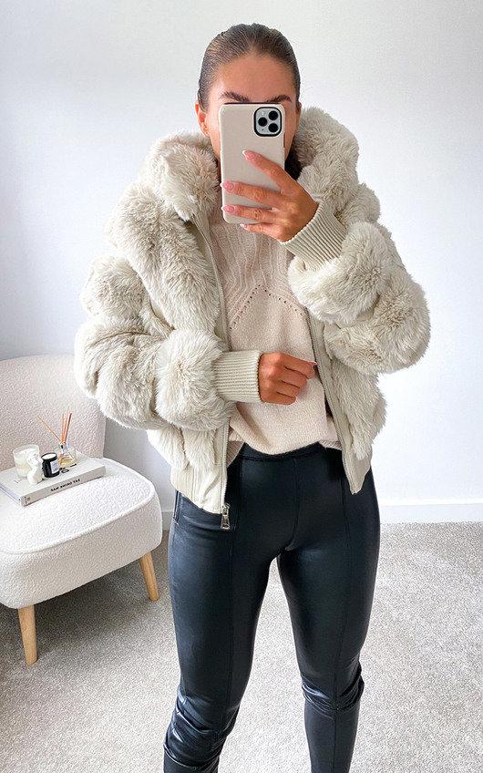 Pippa Faux Fur Jacket