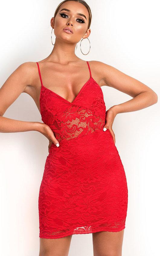 Pippa Lace Bodycon Dress