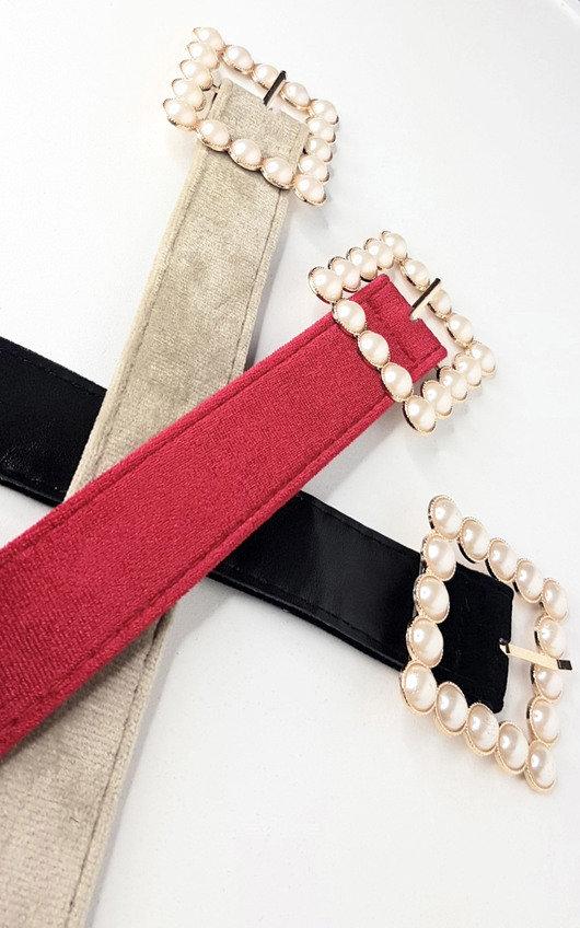 Pippa Pearl Buckle Belt
