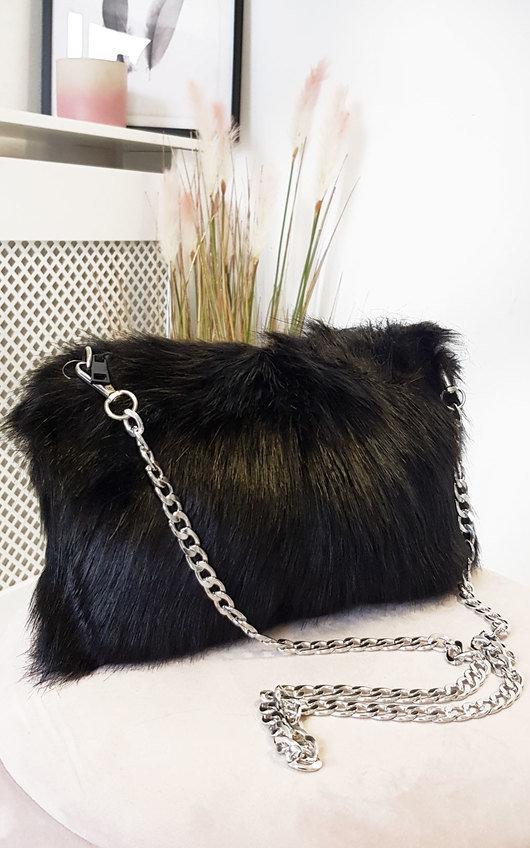 Pollie Faux Fur Shoulder Bag