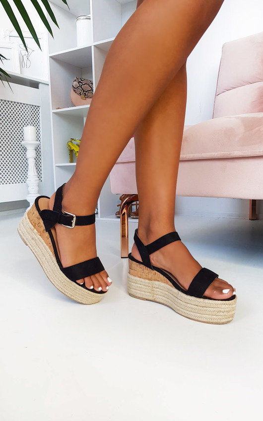Polly Flatform Wedged Sandals