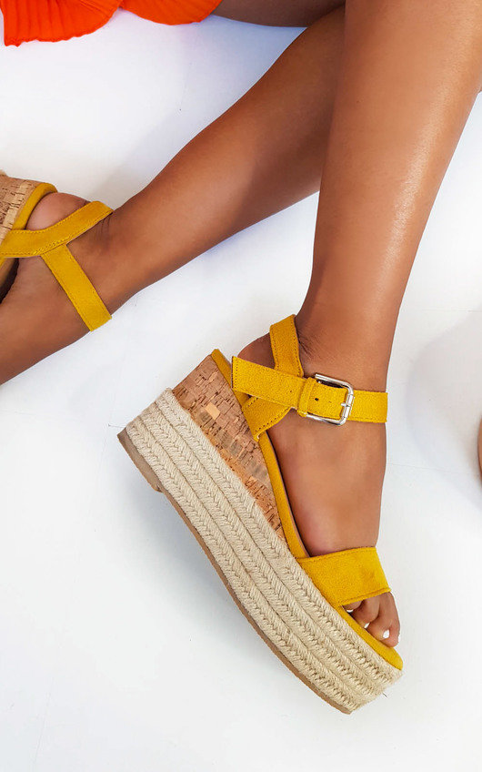 Polly Flatform Wedged Sandals