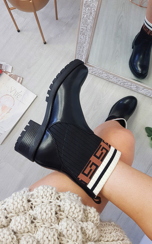 Portia Printed Ankle Boots