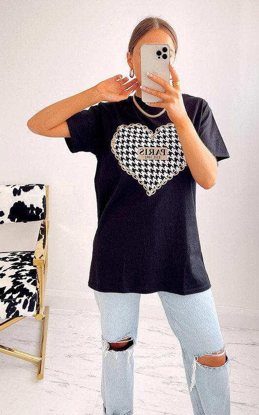 Priti Paris Heart T-Shirt