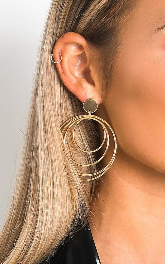 Quinn Multi Hoop Earrings