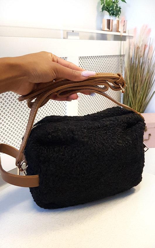 Quinn Teddy Bear Shoulder Bag