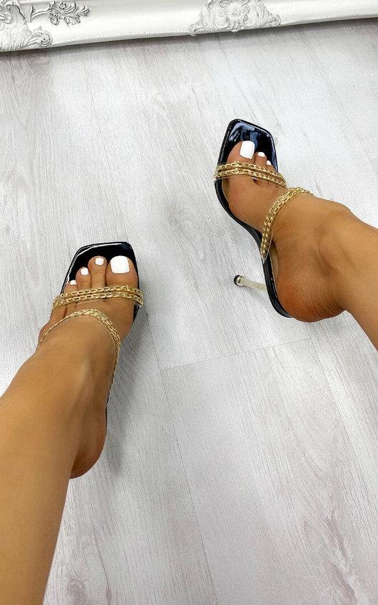 Radley Chain Detail Heels