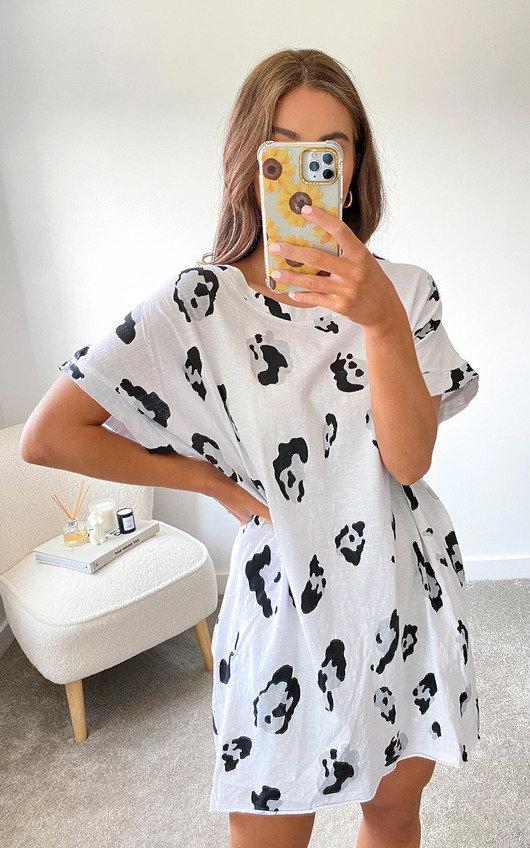 Raleigh Oversized T-Shirt Dress