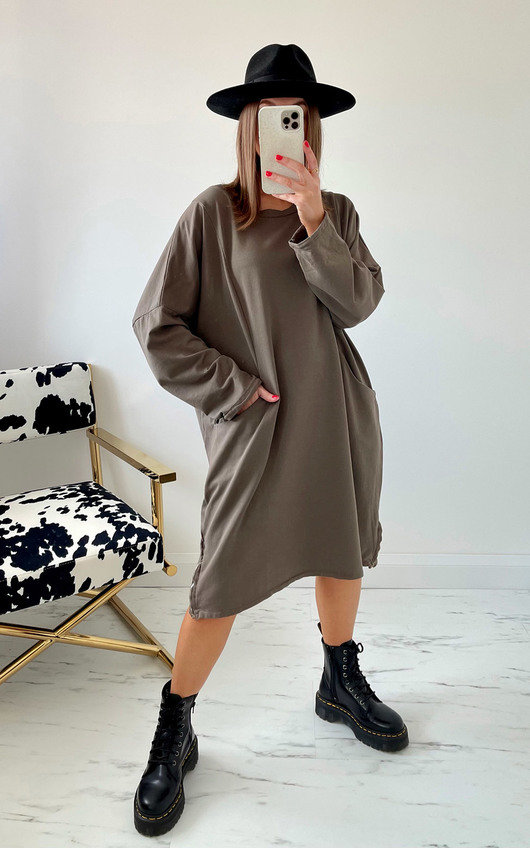 Raven Jumper Dress
