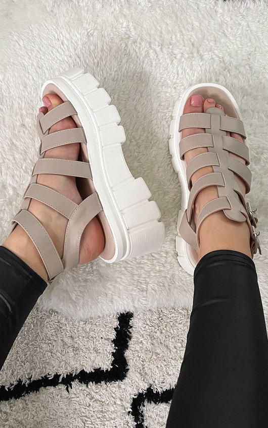 Rayn Chunky Gladiator Sandals