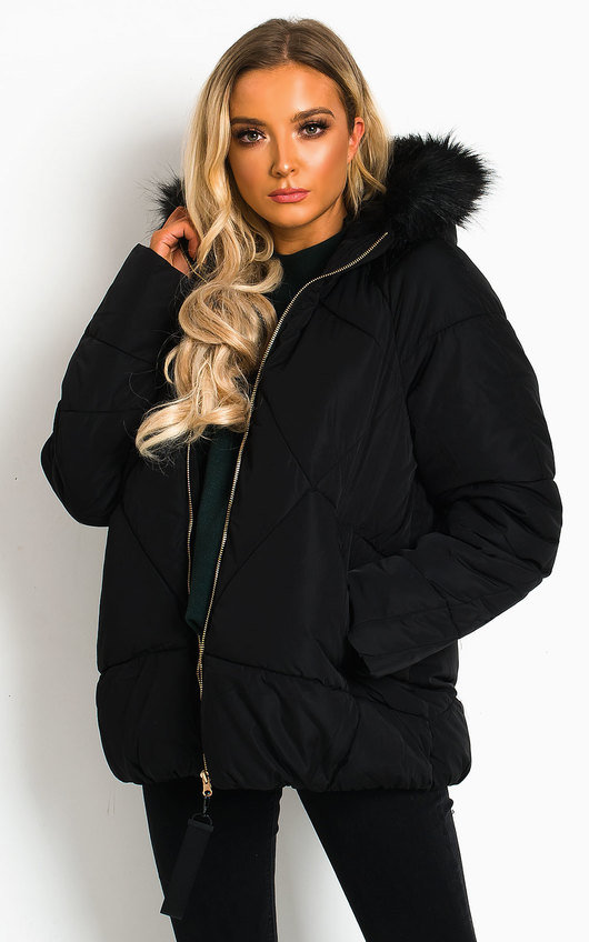 Razzy Padded Hooded Puffer Jacket