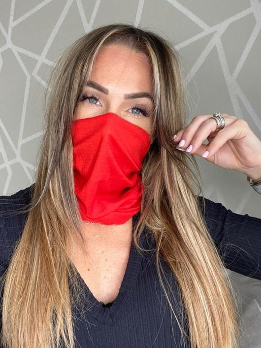 Re-Usable Snood Face Mask