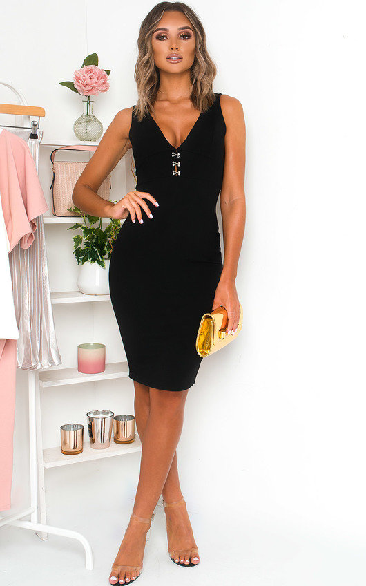 Reb Bodycon Midi Dress