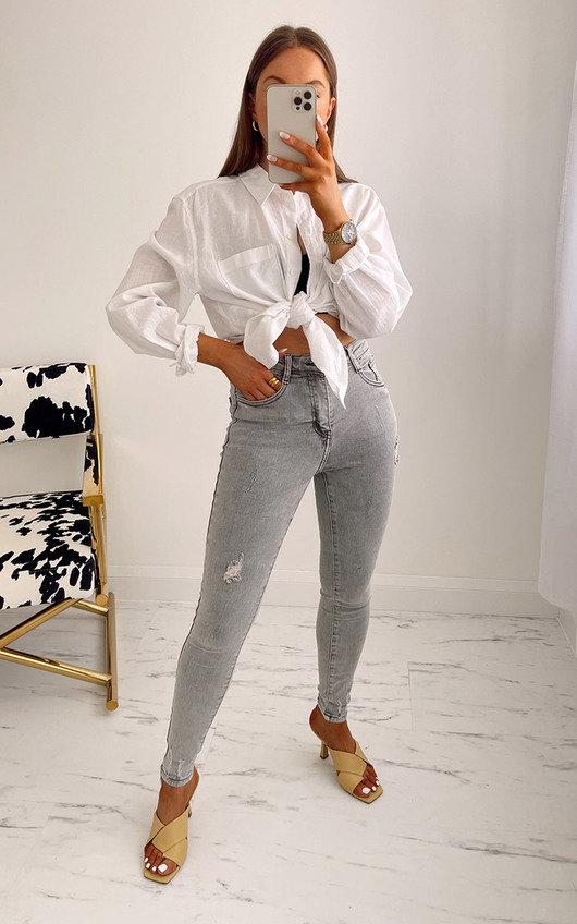 Rebel Ripped Skinny Jeans